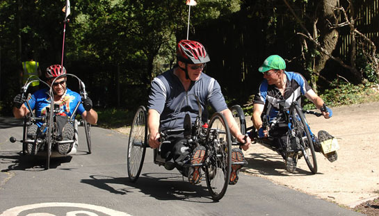 Three HandCycles